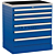 Treston 62007001. Тумба с выдвижными ящиками 71/79-1