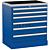 Treston 62007004. Тумба с выдвижными ящиками 71/79-4