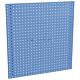 Treston 837369-07. Перфорированная стенная панель 454x988, синяя