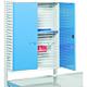 Treston 854039-07. Перфорированный шкаф для инструмента, M500, синий