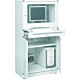 Treston 854358-49. Шкаф для компьютера 80 /160
