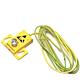 Treston 860522-00. Распределительная коробка заземления, желтая