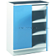 Treston C30507002. Шкаф 80/100 комбинация 2 синий